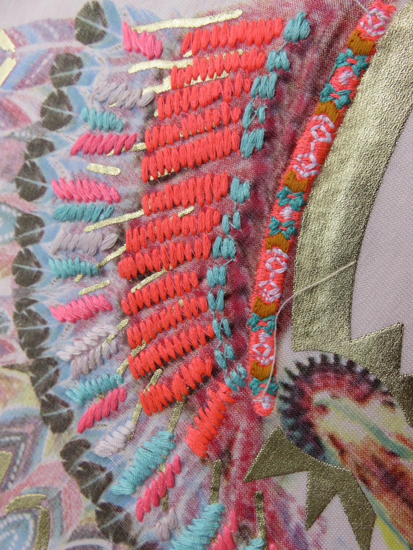 billieblush t shirt rosa indian summer print 98 104 110 116 122 128 134 140 neu ebay. Black Bedroom Furniture Sets. Home Design Ideas